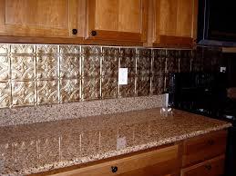 Kitchen Backsplash Tin Tin Backsplash Kitchen Home Design And Decor