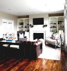 decorating idea family room. Family Room Style Ideas With Dark Brown Tufted Back Pottery Barn Corner Fireplace In Pellit Stove Decorating Idea N