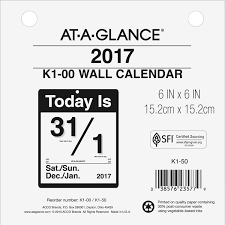 Year At A Glance Calendars