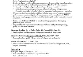 Singular How To Write Teaching Resume Cover Letter For Preschool