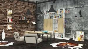 loft office. Loft Office 3d Model Max Obj 3ds Fbx C4d Mtl 1