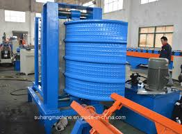 quality corrugated metal roof sheet panel hydraulic arch curving crimping bending machine
