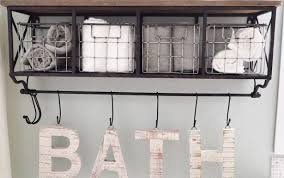 storage decor rolled wall bathroom corner ladder decorative white towels ideas cabinet excellent diy tall design