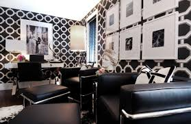 The Black And White Striped Wall Decorating I Love Pinterest ...