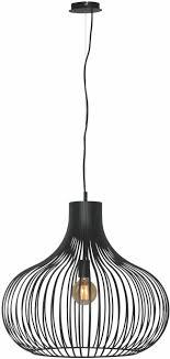 Hanglamp Aglio Fijn Gesneden Draadstaal 60cm Zwart Lichtaccessoires