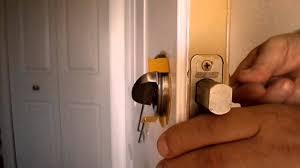 How to pick a grade 1 security Schlage door lock YouTube