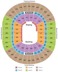 Nfr 2018 Seating Chart Nfr 2019 Tickets