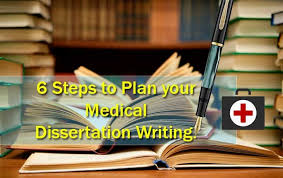 steps to plan your medical dissertation writing