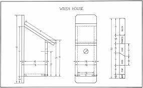 wren bird house plans. 15. Wren Bird House Plans