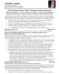 bank sample resume investment banking resume sample resume samples chief investment