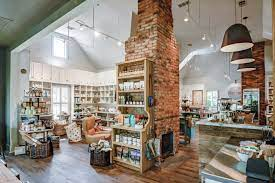 Antiques, art, bowling and even hot yoga are yours for the taking in this nearly hidden shopping circle. Atlanta S 9 Hottest New Coffee Shops Zagat
