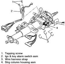 1998 chevy s10 ignition switch wiring diagram wiring diagram technic 1998 chevy s 10 ignition removal how do you get the ignition off 2carpros com