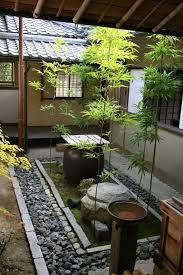 Terrace and Garden: Indoor Japanese Courtyard Garden Decoration - Japanese  Courtyard