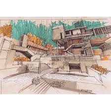 architectural hand drawings.  Hand Architectural Sketches Hand Drawings Architecture To Drawings