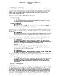 KINDRED PLANNING & ZONING MEETING MINUTES