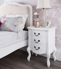 Shabby Chic White Bedroom Furniture Juliette Shabby Chic White Upholstered Bed Stunning French 5ft