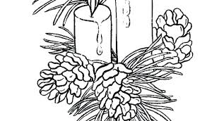 Easter Candle Colouring Page Christmas Coloring Pages Free Beautiful