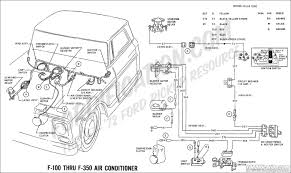 ford truck technical drawings and schematics section h wiring 1982 Chevy C10 Specifications 1969 f 100 thru f 350 air conditioner