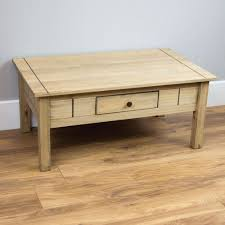 corona panama coffee table nest of tables solid waxed pine mexican