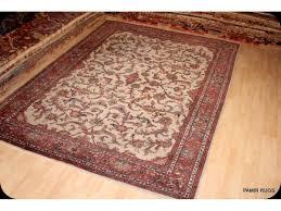 handmade persian traditional rug tabriz mahal 9 x 12 old vintage rug