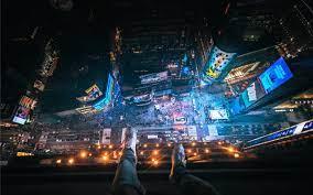 Above Time Square. Mac Wallpaper ...