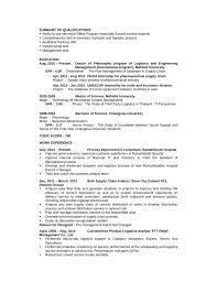 Portfolio Logistics Analyst Resume