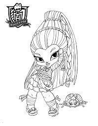 Baby Coloring Pages For Kids With Free Printable Monster High