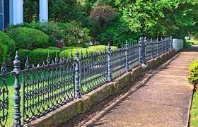 cast iron fence wrought iron fences