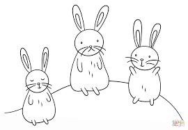 Kawaii Konijntjes Kleurplaat Gratis Kleurplaten Printen Cute Kitten