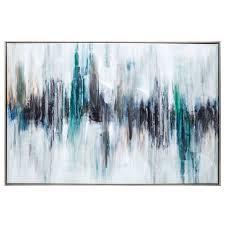 color blur canvas wall decor hobby