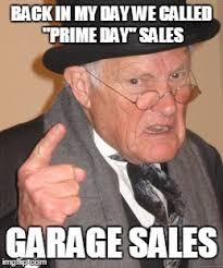 amazon prime day meme.  Amazon Back In My Day Meme  BACK IN MY DAY WE CALLED  Intended Amazon Prime P