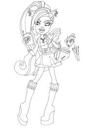 Monster High Coloring Pages Pdf Dapmalaysiainfo