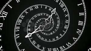 Futuristic Clock Stock Video Black Spiral Clock Loop 4k 32121849 Pond5