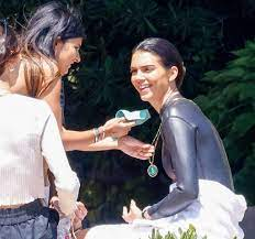 Kendall Jenner models wet suit and ...