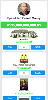 Spend Jeff Bezos' Money - Simulation ...