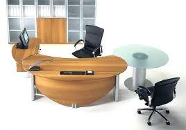 curved office desks. Modern Office Desk Curved Fresh Table Hi Tech Furniture Desks