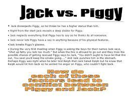 lord of the flies conflict pupil s work  piggy vs boys 2