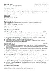 Objective Accounting Resumes Fresh Staff Accountant Resume Objective Or Sample Staff
