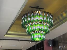25 best ideas about beer bottle chandelier on beer