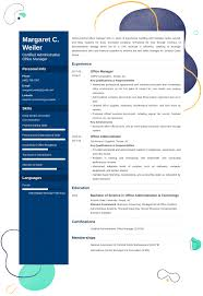 Office Administration Resume Examples Office Manager Resume Examples And 25 Writing Tips