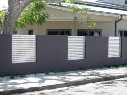 fence design. Cool Fences For Modern House Color Fence Design A