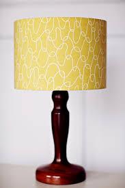 Lampshade, Scandinavian lamp, Yellow lamp shade, mustard home decor, retro  decor, bedroom lighting, light shade, lamp shade, retro lampshade