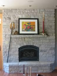 Interiors  Amazing Austin Stone Fireplace White Stacked Stone Austin Stone Fireplace