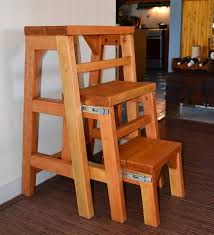 opened folding 3 step stool options custom size 24 l x