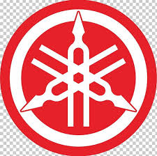 yamaha motors logo black and white