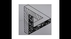 Illusion Triangle Drawing Illusion Triangle Tattoo
