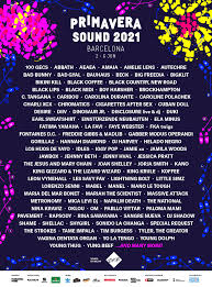 Music event in barcelona, spain by primavera sound on wednesday, june 2 2021 with 11k people interested and 7k people going. 2021 Initial Lineup Poster Primaverasound