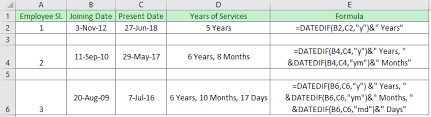 How To Calculate Years Of Service In Excel 3 Easy Ways Exceldemy