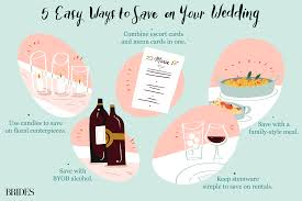 50 Easy Ways To Save 500 On Your Wedding