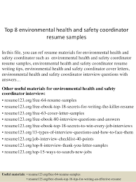 top environmental health and safety coordinator resume samples jpg cb  environmental health best online essay sites